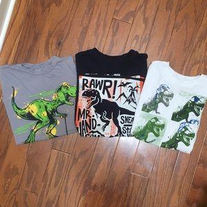 Other - Bundle of Dinosaur Tshirts